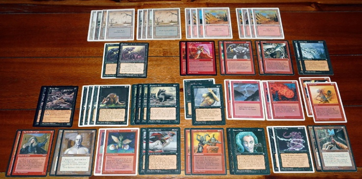 The Rat Race, a Magic The Gathering deck