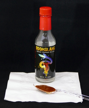 Boomslang Ghost Pepper Sauce — Ashley Food Company, Sudbury MA