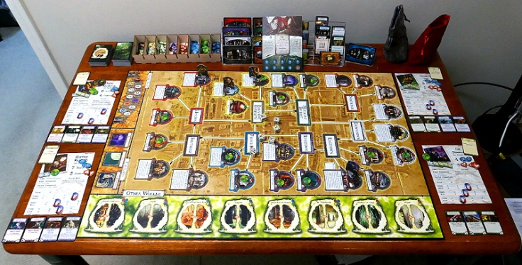 Arkham Horror 2nd Edition: Core Game Setup